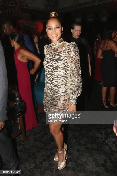 Amanda Seales attends Celebrating the Culture Powered by Samsung Galaxy at Avenue on September 17 2018 in Los Angeles California