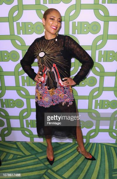 Amanda Seales attends HBO's Official 2019 Golden Globe Awards After Party on January 6 2019 in Los Angeles California