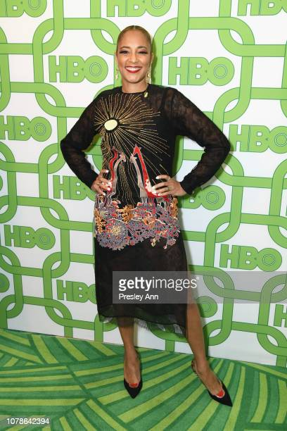 Amanda Seales attends HBO's Official Golden Globe Awards After Party at Circa 55 Restaurant on January 6 2019 in Los Angeles California