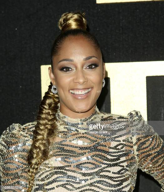 Amanda Seales attends HBO's Post Emmy Awards Reception at The Plaza at the Pacific Design Center on September 17 2018 in Los Angeles California