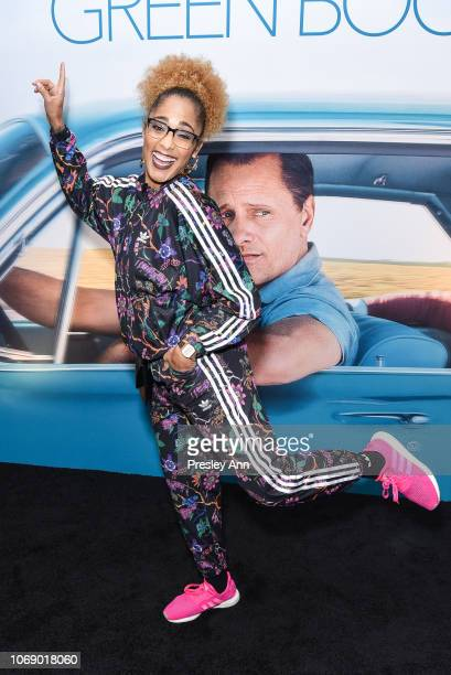 Amanda Seales attends Special Screening Of Universal Pictures Green Book With Star Mahershala Ali at The GRAMMY Museum on November 17 2018 in Los...
