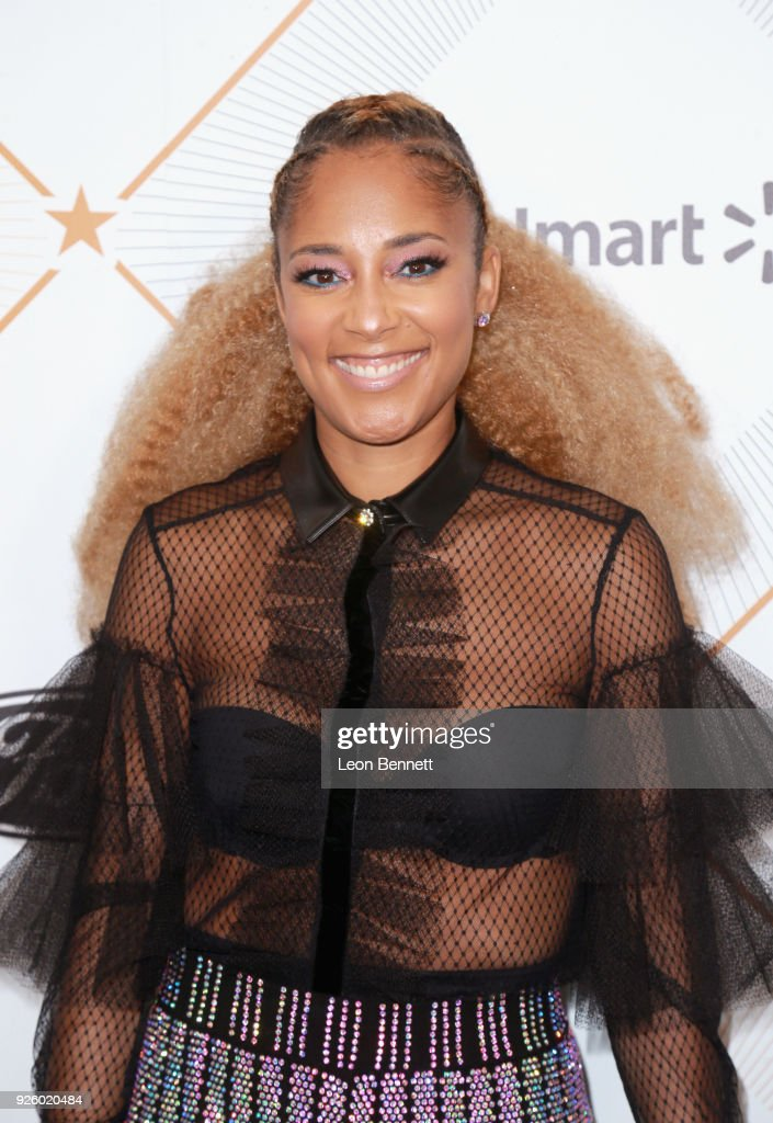 2018 Essence Black Women In Hollywood Oscars Luncheon - Red Carpet : News Photo