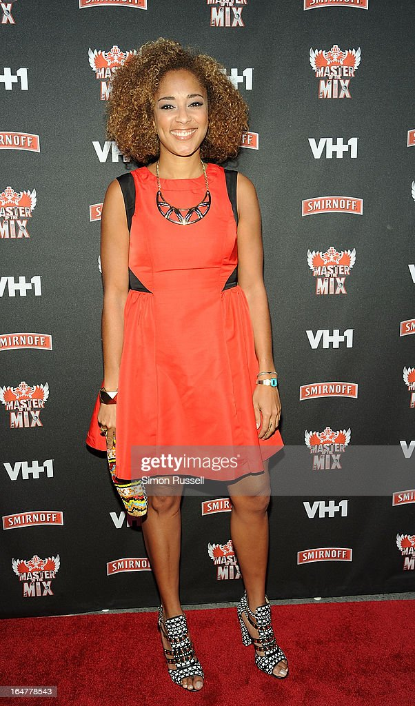 Amanda Seales attends the 'Masters Of The Mix' Season 3 Premiere at Marquee on March 27, 2013 in New York City.