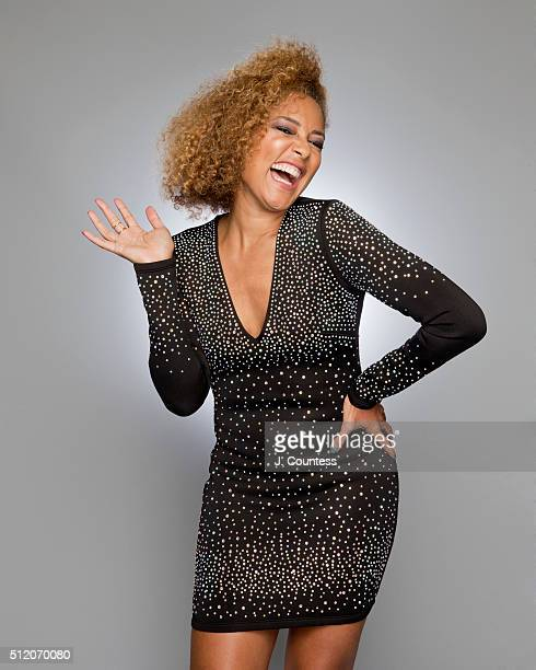 Amanda Seales poses for a portrait on February 21 2016 in Los Angeles California