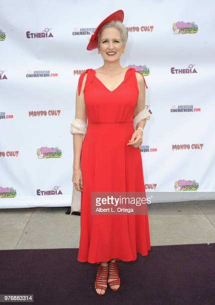 Amanda Serra arrives for the 2018 Etheria Film Night held at the Egyptian Theatre on June 16 2018 in Hollywood California