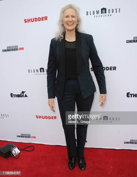 Amanda Serra attends the 6th Annual Etheria Film Showcase held at American Cinematheque's Egyptian Theatre on June 29 2019 in Hollywood California