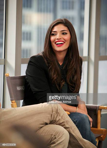 Amanda Setton of the CBS comedy THE CRAZY ONES participate in a Television Critics Association press conference on their set at the 20th Century Fox...