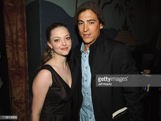 Amanda Seyfried and Andrew Keegan during HBO Original Series 'Big Love' Premiere Red Carpet at Grauman's Chinese Theater in Hollywood California...