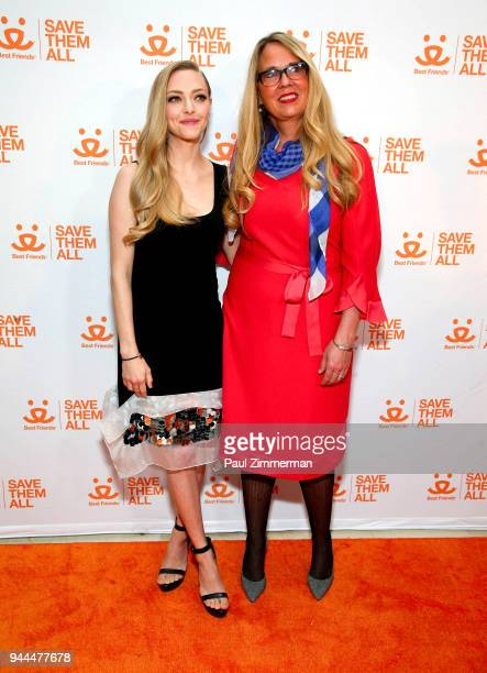 Amanda Seyfried and CEO of Best Friends Animal Society Jullie Castle attend 3rd Annual Best Friends Animal Society New York City Gala at Guastavino's...