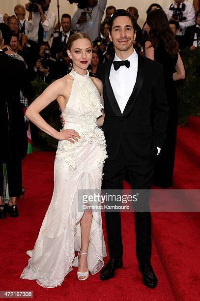 Amanda Seyfried and Justin Long attend the 'China Through The Looking Glass' Costume Institute Benefit Gala at the Metropolitan Museum of Art on May...