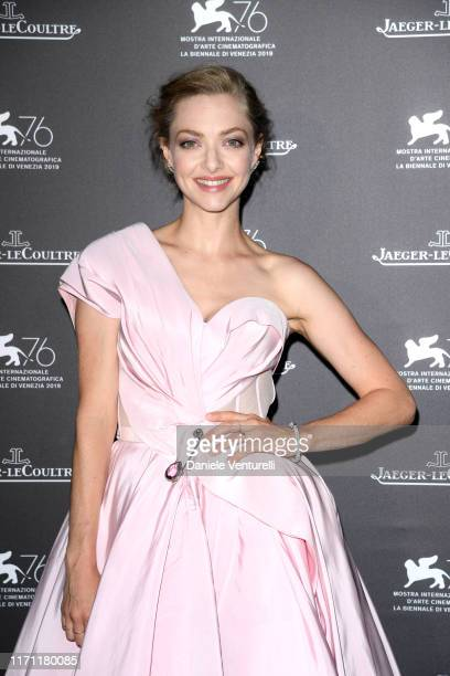 Amanda Seyfried arrives for the JaegerLeCoultre Gala Dinner during the 76th Venice Film Festival at on August 30 2019 in Venice Italy