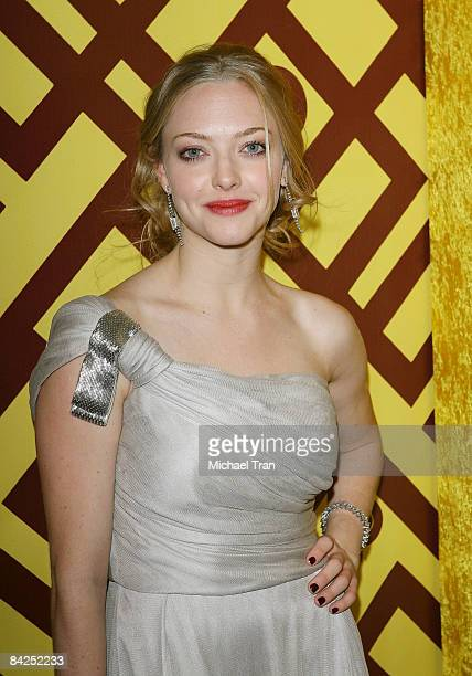 Amanda Seyfried arrives to the official HBO Golden Globe Awards afterparty held at Circa 55 Restaurant inside the Beverly Hilton held on January 11...