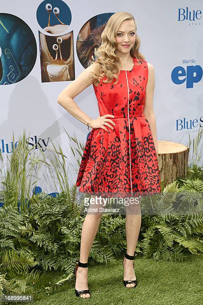 Amanda Seyfried attends 'Epic' New York Screening on May 18 2013 in New York City