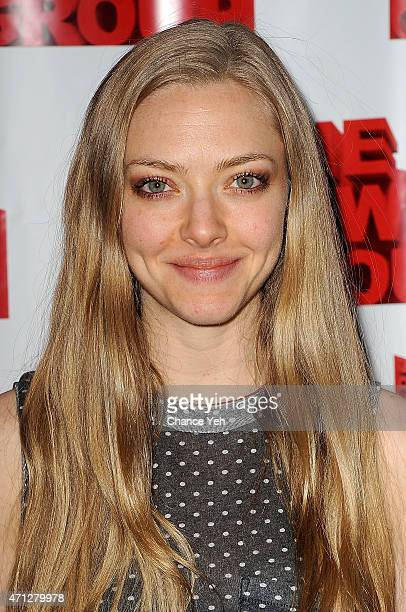 Amanda Seyfried attends 'Hurlyburly' Benefit Reading at Alice Griffin Jewel Box Theatre on April 26 2015 in New York City