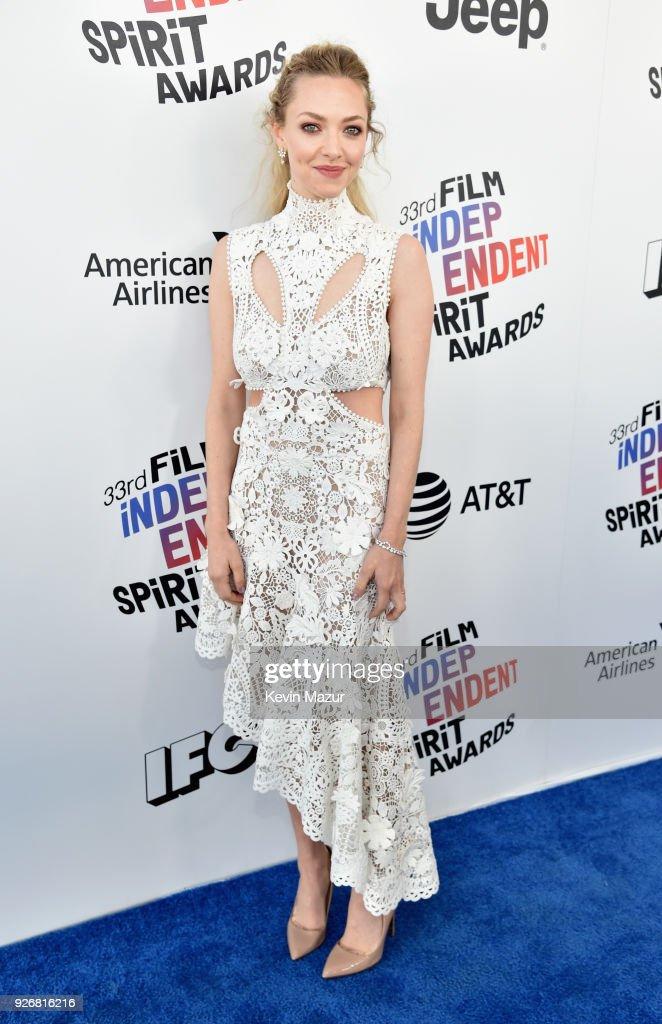2018 Film Independent Spirit Awards  - Red Carpet : ニュース写真