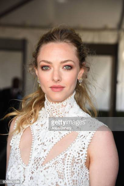 Amanda Seyfried attends the 2018 Film Independent Spirit Awards on March 3 2018 in Santa Monica California