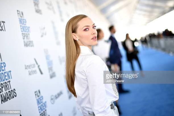 Amanda Seyfried attends the 2019 Film Independent Spirit Awards on February 23, 2019 in Santa Monica, California.