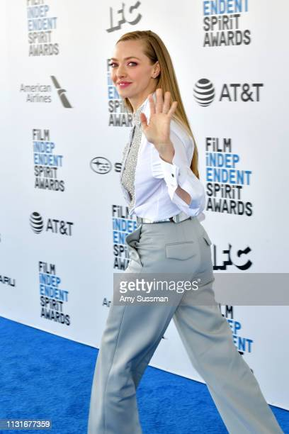 Amanda Seyfried attends the 2019 Film Independent Spirit Awards on February 23 2019 in Santa Monica California