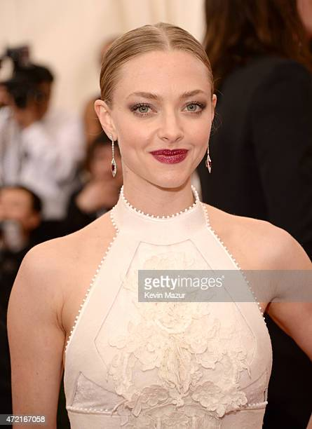 Amanda Seyfried attends the 'China Through The Looking Glass' Costume Institute Benefit Gala at Metropolitan Museum of Art on May 4 2015 in New York...