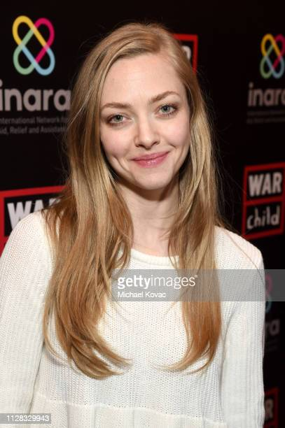 Amanda Seyfried attends the Good For A Laugh Comedy Benefit in support of children affected by war at Largo on March 1 2019 in Los Angeles California