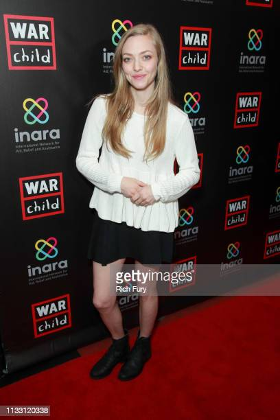 Amanda Seyfried attends the Good For A Laugh comedy fundraiser to support children affected by war at Largo At The Coronet on March 01 2019 in Los...