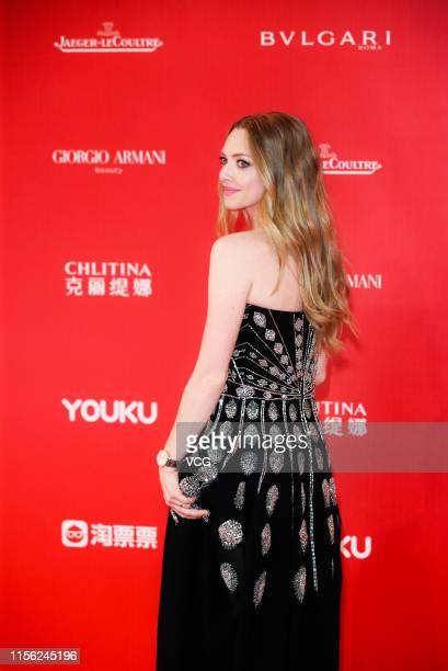 Amanda Seyfried attends the opening ceremony of the 22nd Shanghai International Film Festival at Shanghai Grand Theatre on June 15 2019 in Shanghai...