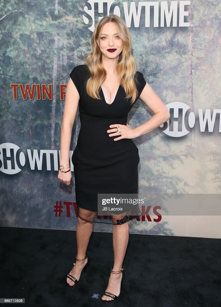 Amanda Seyfried attends the premiere of Showtime's 'Twin Peaks' at The Theatre at Ace Hotel on May 19, 2017 in Los Angeles, California.