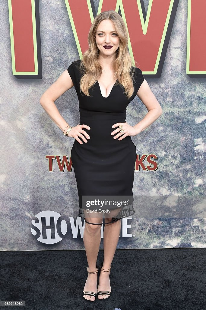 Amanda Seyfried attends the World Premiere Of Showtime's 'Twin Peaks' - Arrivals at The Theatre at Ace Hotel on May 19, 2017 in Los Angeles, California.