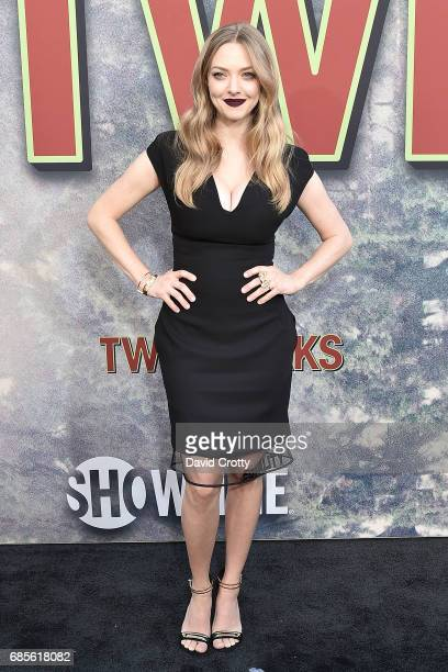 Amanda Seyfried attends the World Premiere Of Showtime's 'Twin Peaks' Arrivals at The Theatre at Ace Hotel on May 19 2017 in Los Angeles California