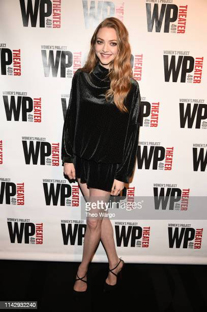 Amanda Seyfried attends WP Theater's 40th Anniversary Gala at The Edison Ballroom on April 15 2019 in New York City