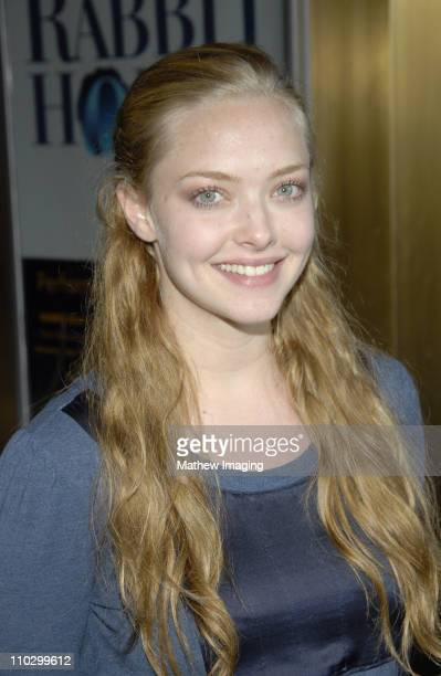 Amanda Seyfried during Cure Autism Now Acts of Love Arrivals at The Geffen Playhouse in Westwood California United States
