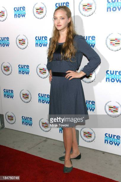 Amanda Seyfried during Cure Autism Now's Acts of Love Dreams at Geffen Playhouse in Los Angeles CA United States