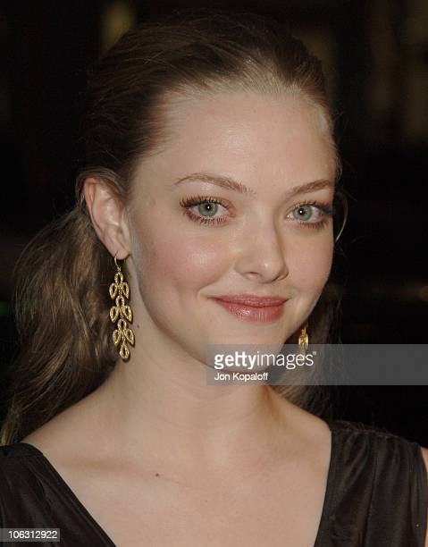 Amanda Seyfried during HBO Original Series 'Big Love' Premiere Arrivals at Grauman's Chinese Theater in Hollywood California United States