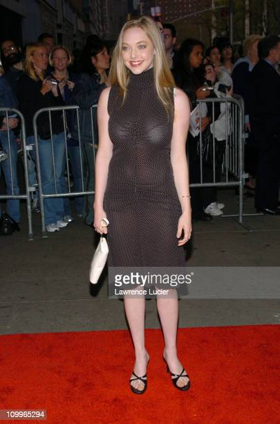 Amanda Seyfried during Mean Girls New York Premiere at Loews Lincoln Square Theatre in New York City New York United States