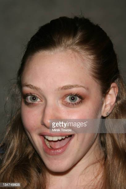 Amanda Seyfried during 'Thief' Los Angeles premiere Arrivals at Pacific Design Center in West Hollywood California United States