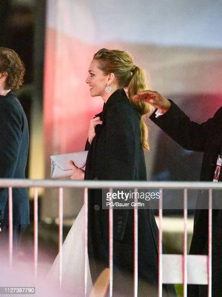 Amanda Seyfried is seen on February 24 2019 in Los Angeles California