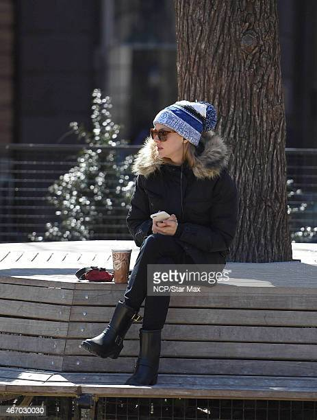 Amanda Seyfried is seen on March 19 2015 in New York City