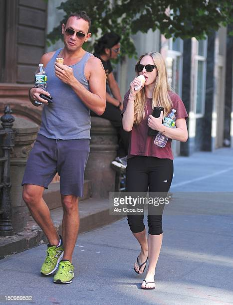 Amanda Seyfried sighting in the West Village on August 29 2012 in New York City
