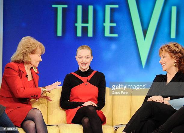 THE VIEW Amanda Seyfried was a guest on 'THE VIEW' Friday Feb5 2010 airing on the ABC Television Network VW10 BARBARA