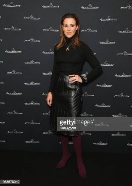 Amanda Shadforth attends the JaegerLeCoultre Polaris Collection Launch at Carriageworks on May 30 2018 in Sydney Australia