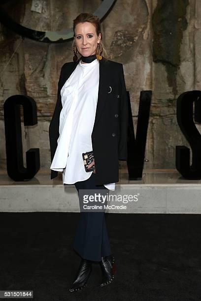 Amanda Shadforth attends the MercedesBenz Presents Maticevski show at MercedesBenz Fashion Week Resort 17 Collections at The Cutaway Barangaroo...