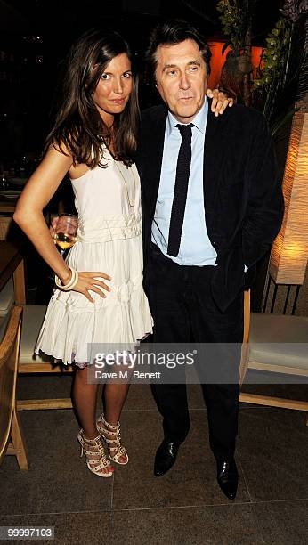 Amanda Sheperd and Bryan Ferry attend the launch party for the opening of TopShop's Knightsbridge store on May 19, 2010 in London, England.