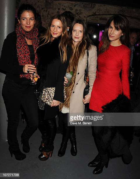 Amanda Sheppard Amanda Crossley Arabella Musgrave and Caroline Sieber attends the opening party for the new nightclub 'Public' on December 2 2010 in...