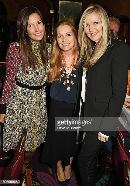 Amanda Sheppard Amanda Kyme and Amanda Wakeley attend the launch of GP Nutrition Supplements a collection of five premium nutritional programmes...