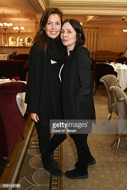 Amanda Sheppard and Gillian McVey attend the Hoping Breakfast for Palestinian refugee children at Harrods on February 9 2016 in London England