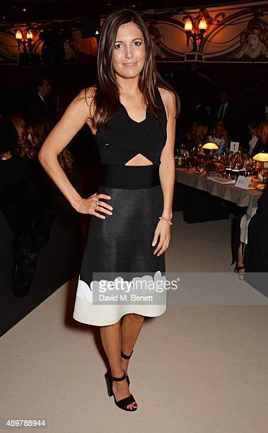 Amanda Sheppard attends a drinks reception at the British Fashion Awards at the London Coliseum on December 1 2014 in London England