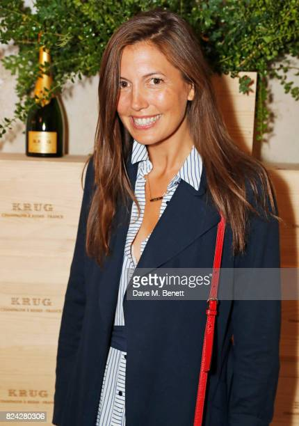 Amanda Sheppard attends Krug Festival 'Into The Wild' at The Grange Hampshire on July 29 2017 in Northington United Kingdom