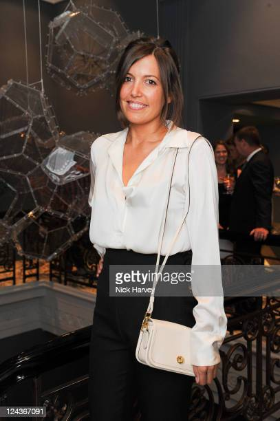 Amanda Sheppard attends the dinner for Coach of which Gwyneth Paltrow is the new face on September 7 2011 in London England