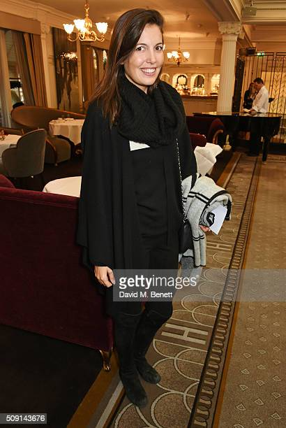 Amanda Sheppard attends the Hoping Breakfast for Palestinian refugee children at Harrods on February 9 2016 in London England