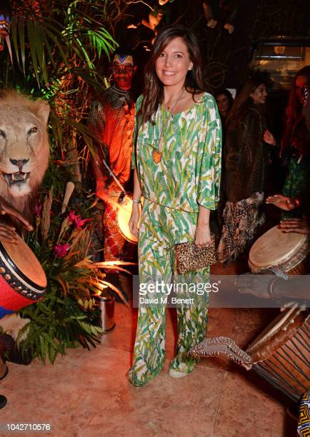 Amanda Sheppard attends the Jungle Party at Annabel's on September 28 2018 in London England